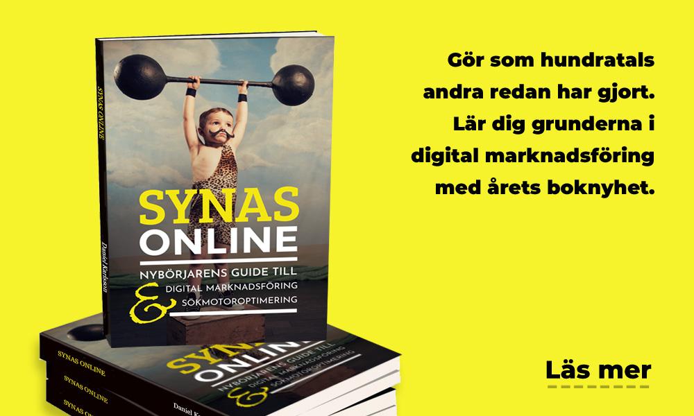 Bok om sökmotoroptimering och marknadsföring