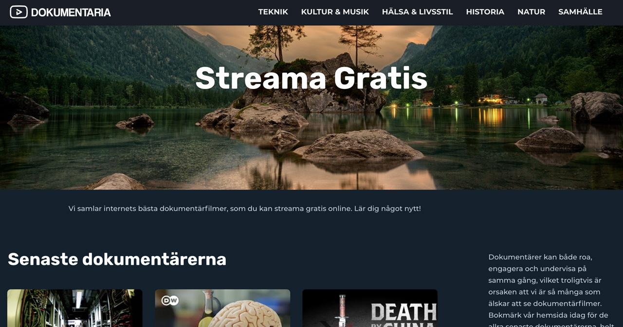 dokumentärer online